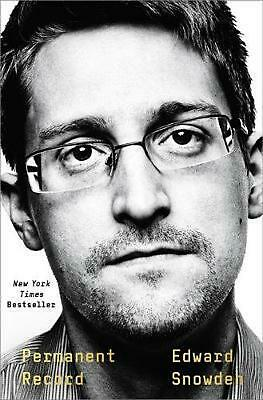 Permanent Record by Edward Snowden (English) Hardcover Book Free Shipping!