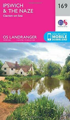 Landranger (169) Ipswich, The Naze & Clacton-on-Sea (OS Landranger Map) by Ordna