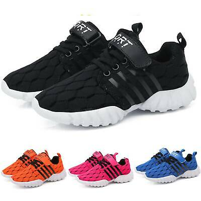 Kid's Boys Girls Breathable Shoes Running Children Sneakers Sport Trainers Size