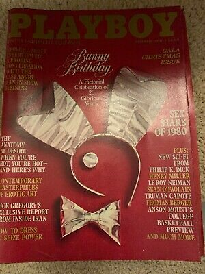 playboy's magazines special edition Christmas Gala Issue December 1980 Bunny