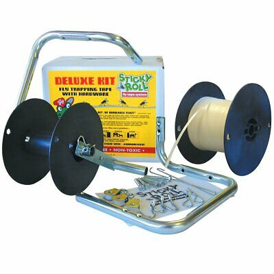 Coburn SI1008 Sticky Roll Fly Tape 1000' Deluxe Kit with Hardware