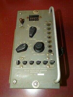Western Electric ED5G000-30 Repeating Adapter, Tube Type