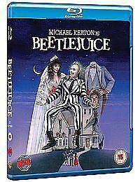 Beetlejuice [Blu-ray] [1988] [Region Free], New, DVD, FREE & FAST Delivery