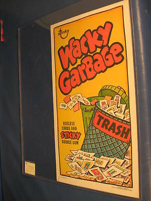 1973 Topps Wacky Packages Poster Wacky Garbage No Folds