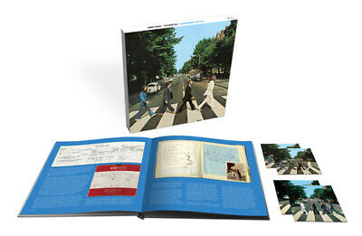 The Beatles : Abbey Road CD Super Deluxe  Box Set with Blu-ray 4 discs (2019)