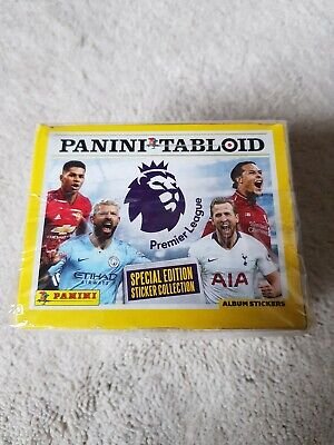 Panini Tabloid Special Edition Sticker Collection Full Box 50 Packs new&sealed