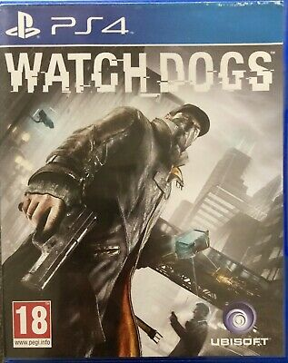 Watch_Dogs For Sony PlayStation 4 PS4 Supplied In Original Case (Free Post)