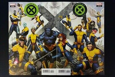 House Of X #4 + Powers Of X #4 Molina Connecting Variant Set  Nm! Hot!!!