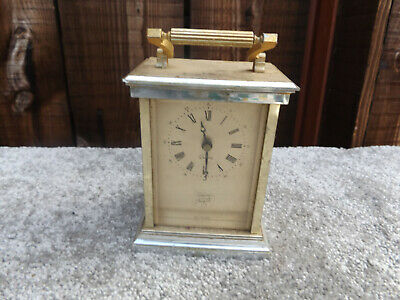 vintage old west germany Tempus Fugile Miniature Carriage Clock