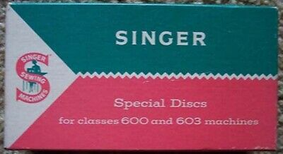 SINGER Sewing Machine Special Discs Attachments for Classes 600 & 603 Machines