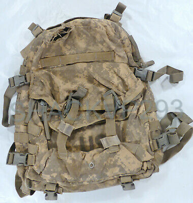 USGI MOLLE II 3 Day Assault Pack ACU Digital Camo US Army Issued Backpack Ruck