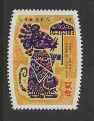 2257, Chinese Lunar New Year Of The Rat, Mint Nh