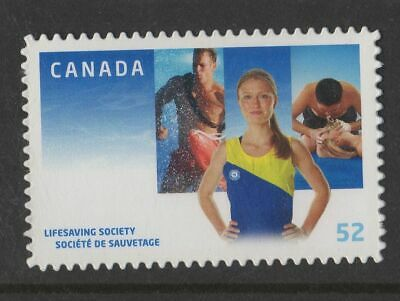 CANADA NO 2282i, LIFESAVIBG SOCIETY CENTENNIAL, DIE CUT , MINT NH