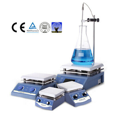 Laboratory Heating Equipments Magnetic Stirrer With Hot Plate