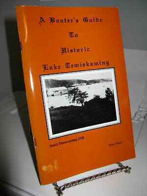 Boater's Guide Lake Temiskaming Ontario History SC 1996 65 Pages - Very Good
