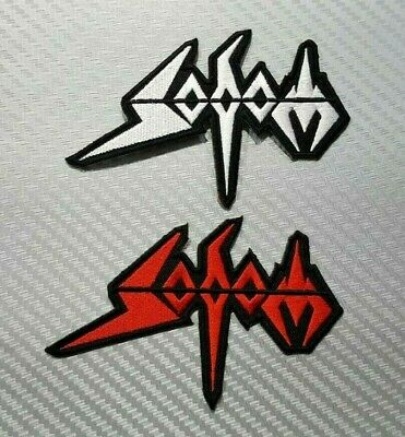 SODOM THRASH METAL WOVEN ROCK MUSIC HEAVY BAND Embroidered Patch Iron Sew Logo
