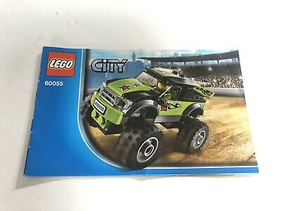Lego City 60055 Instruction Manual only