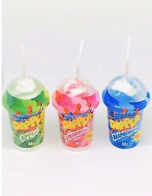Lolly Pop Sherbet Dip In Mini Smoothie Cup Set Of 3