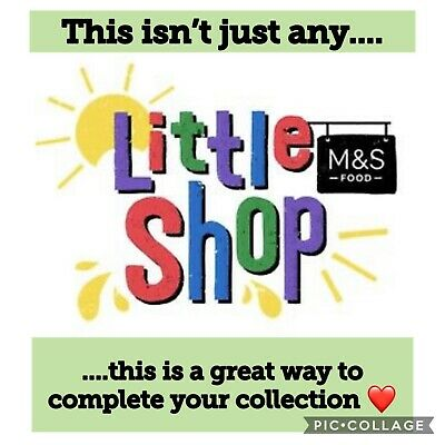 M&S MS Little Shop Collectables - select your item & complete your collection