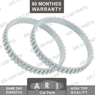 2X Front ABS RING /& ABS Ring Retainer For NISSAN X-TRAIL PRIMERA