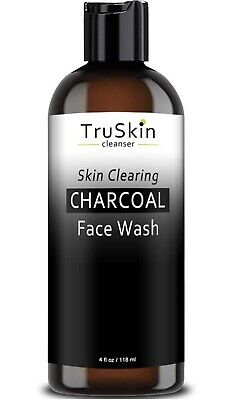 TruSkin Charcoal Face Wash, Anti Aging Facial Cleanser with Activated Sealed