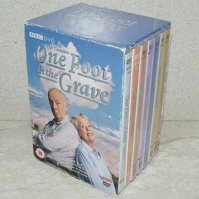 One Foot In The Grave - Complete Series 1-6 + Specials 12DVDs (PAL Regs 2&4)