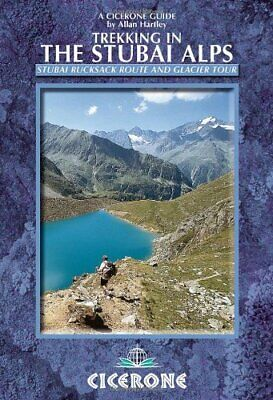Trekking in the Stubai Alps by Hartley  New 9781852846237 Fast Free Shipping..