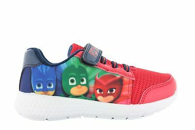Boys PJ Masks Trainers Infant Canvas Touch Fasten Laces Shoes UK Sizes 5-10