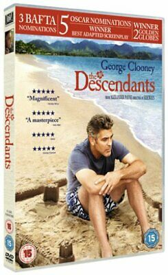 The Descendants - NEW Sealed DVD - George Clooney