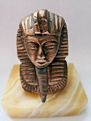rare egyptian statue pharaoh statue vintage antique