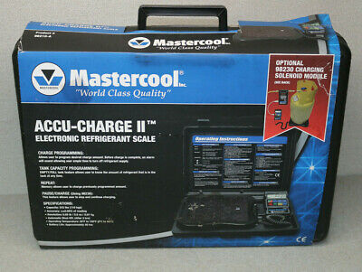 Mastercool Accu-charge II 98210-A Electronic Refrigerant Scale #PIT