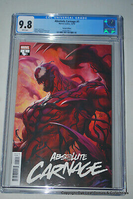 Absolute Carnage #1 Artgerm Variant Cover CGC 9.8 NM/M Marvel Comic Book 2019