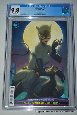 Catwoman #14 Artgerm Variant Cover CGC 9.8 NM/M Marvel Comic Book 2019
