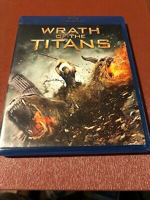 Wrath of the Titans (Blu-ray/DVD, 2012, 2-Disc Set, Includes Digital Copy...