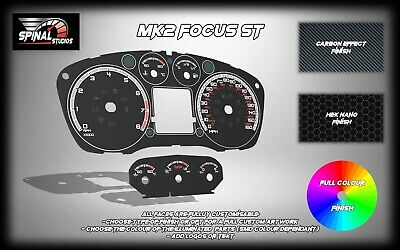 Ford Focus MK2 ST225 Custom Gauges
