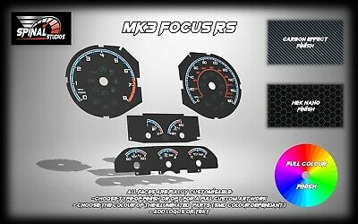 Ford Focus Rs MK3 Custom Gauges