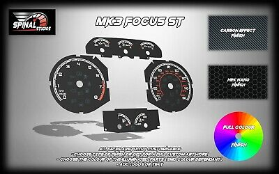 Ford Focus ST MK3 Custom Gauges