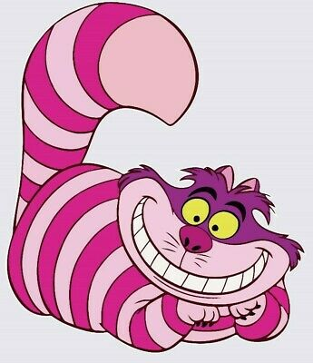 Cheshire Cat,3D,Sticker,Alice In Wonderland,Decal,Wall Art,Decor