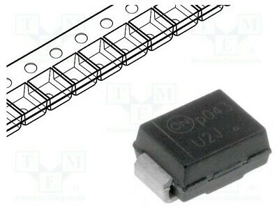 20x S2K-DC Diode Gleichrichter SMD 800V 2A Verpackung Rolle Band SMB S2K