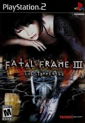 Fatal Frame III: The Tormented [PlayStation 2 PS2 Tecmo Project Zero Horror] NEW