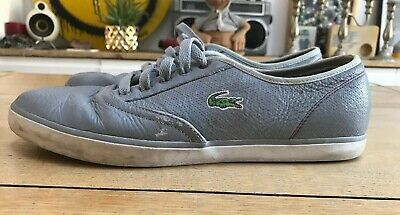 Lacoste Sport Straightset LUX SPM mens leather shoes sneakers trainers NEW+BOX