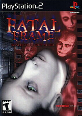 Fatal Frame [PlayStation 2 PS2 Tecmo Project Zero Horror Crime Koei Tecmo] NEW