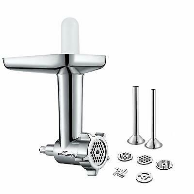 Metal Food Grinder Attachment for KitchenAid Stand Mixers with Sausage Stuffer