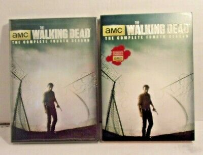 The Walking Dead: Season 4 (DVD, 2014, 5-Disc Set) Brand New and Free ship USA