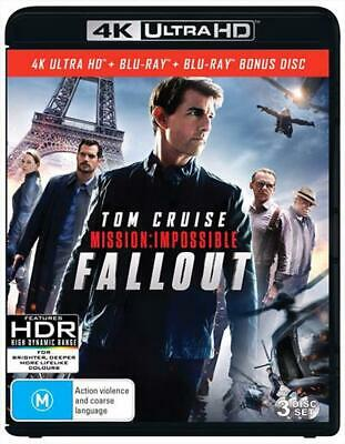 Mission: Impossible - Fallout (Bonus Disc) - 3 Disc - UHD & Blu-Ray - Blu-Ray Re