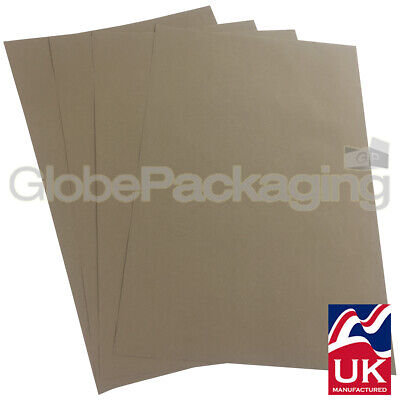 20 x QUALITY THICK BROWN KRAFT WRAPPING PAPER SHEETS 500x750mm *100% RECYCLABLE*