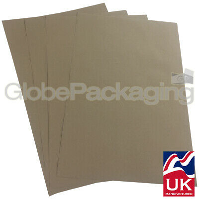 50 x QUALITY THICK BROWN KRAFT WRAPPING PAPER SHEETS 500x750mm *100% RECYCLABLE*