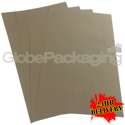 200 x QUALITY THICK BROWN KRAFT WRAPPING PAPER SHEETS 500x750mm *100% RECYCLABLE