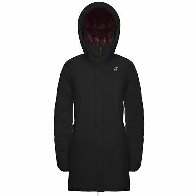 Kway Piumino Donna Sophie Lungo Black Red K00A3J0 Ai1920 Promo -20% Sconto!