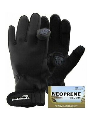 Adult Neoprene ProClimate™ Fishing Hunting Outdoor Winter Sports Gloves